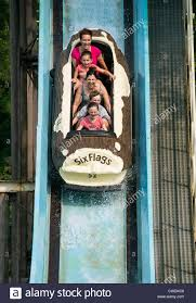 Six Flags New Jersery Saw Mill Log Flume Great Adventure Six Flags New Jersey Usa