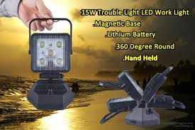 rechargeable magnetic work light rechargeable led work l with magnetic base