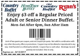 Hometown Buffet Jobs by Hometown Buffet Coupon 3 Off Dinner Buffet 8 1 2017