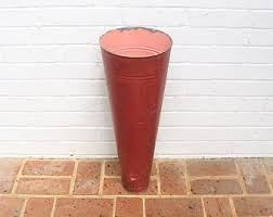 Tall Galvanized Planter by French Metal Planter Etsy