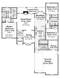 Two Level Floor Plans The Greystone 7027 3 Bedrooms And 2 Baths The House Designers