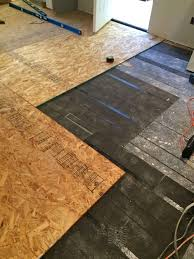 Tongue Side Of Laminate Flooring The Micro Dwelling Project Part 5 Flooring The Daring Gourmet