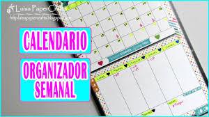 Wall Calendar Organizer Diy Wall Calendar And Weekly Organizer Easy And Quick Tutorial