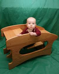 merry grandkids 2 triple combination high chair desk rocking horse