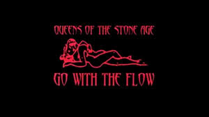 qotsa go with the flow official guitar backing track