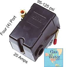 universal pressure switch 95 125 psi for air compressor 4 port