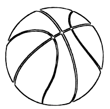 basketball ball coloring pages printable coloringstar