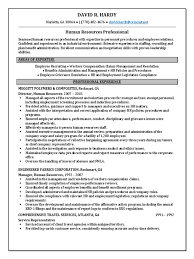 Benefits Administrator Resume Download Human Resources Specialist In Southern Nj Philadelphia Pa
