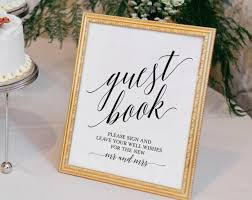 wedding guest sign in book wedding sign in book guest book sign guest book wedding guest book