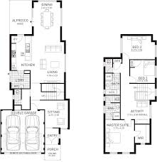 house designs home designs plunkett homes byron double storey floor plan western australia