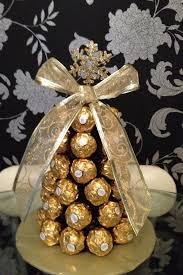 Chocolate Angels Christmas Tree Decorations by Ferrero Rocher Christmas Tree Diy Pinterest Ferrero Rocher