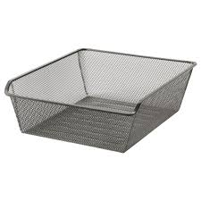 Laundry Hamper Ikea by Komplement Mesh Basket With Pull Out Rail 39 3 8x13 3 4