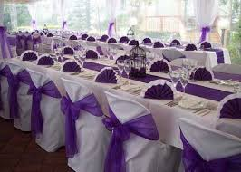 purple wedding decorations purple and white decoration for wedding 7508