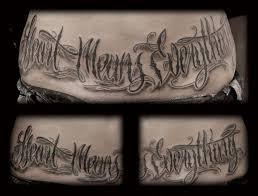 tattoo lettering font maker lettering tattoo script font tattoomagz