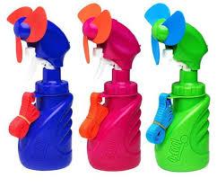 water bottle misting fan o2 cool squeeze breeze water misting fan