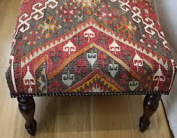 furniture kilim ottoman for inspiring attractive living furniture