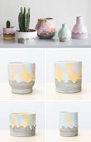 brian giniewski ceramics has created a collection of rainbow drip