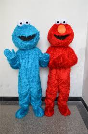 cookie monster and elmo halloween costumes online buy wholesale cookie monster mascot costume from china