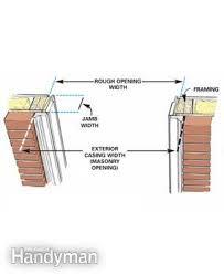 Exterior Door Casing Replacement How To Replace An Exterior Door Family Handyman