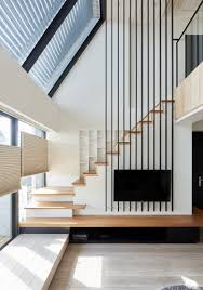 Staircase Wall Design by Elegant Contemporary And Creative Tv Wall Design Ideas