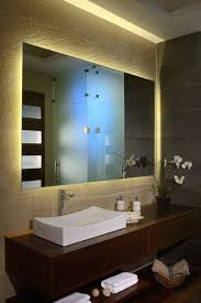 Backlit Mirrors Bathroom Architecture Orchid In Beautiful Bathroom Decorating Ideas With
