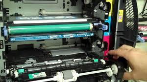 error 10 92 00 cartridges not engaged color laserjet 3600 youtube