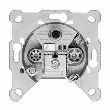eda 302 f sat catv outlet terminated sat catv sockets 306121