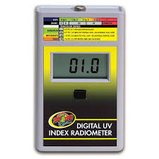 Zoo Med Lights by Zoo Med Digital Uv Index Radiometer St 7 Sutton Pets And Exotics
