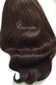 foxy extensions deluxe 20 clip in human hair extensions 165g