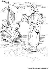 jesus talk water coloring pages spring coloring pages free