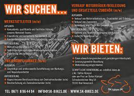 Bad Kreuznach News Sk Bikes Sucht Neue Mitarbeiter Für Die Werkstatt Motorrad Net