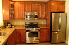 kitchen paint colors with oak cabinets and stainless steel