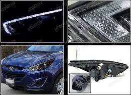hyundai tucson aftermarket accessories 10 13 hyundai tucson black clear lens r8 style projector