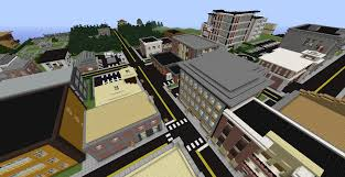 Minecraft America Map by Lormierville A Modern City