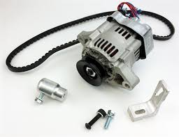 12v alternator kit 55 amp alternator type 3 engines squareback