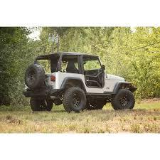 rugged ridge 11509 20 tube doors locking 97 06 jeep wrangler tj