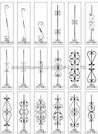 cast steel wrought iron ornament cast wrought fushi china