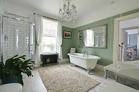 rush witt wilson albert road bexhill on sea stunning bathroom suite comprising roll top bath with ornate hand shower attachment w c with high level flush roll top radiator obscure glass window