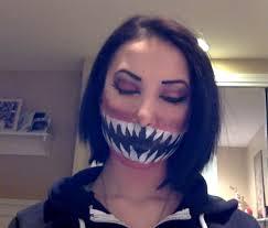teeth face paint youtube