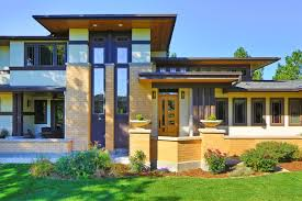 frank lloyd wright style homes for sale houzz tour touches of frank lloyd wright in colorado