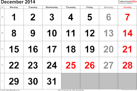 free printable weekly calendar december 2014 calendar december 2014 uk bank holidays excel pdf word templates