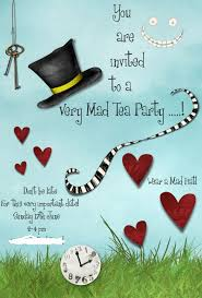 Tea Party Invitation Card 83 Best M Invites To The Mad Hatter Tea Party Images On