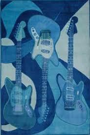 Guitar Rugs Guitar Rug At Rug Studio