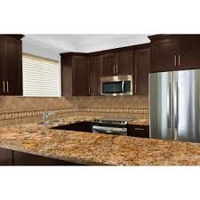 home depot kitchen cabinet tops stonemark 3 in x 3 in granite countertop sle in solaris