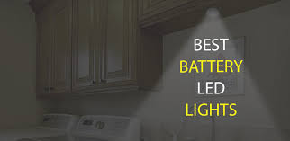 battery operated led lights for kitchen cabinets best battery powered led lights ledwatcher
