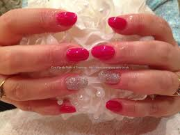 red gel acrylic nails u2013 popular manicure in the us blog