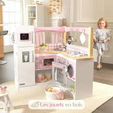cuisine en bois fille cuisine fille bois 53185 cuisine grand gourmet kidkraft 53185
