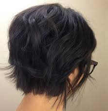 vies of side and back of wavy bob hairstyles 20 best dark bob hairstyles short hairstyles 2016 2017 most