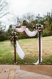 wedding arch nashville cedarwood wedding nashville tn myers photography