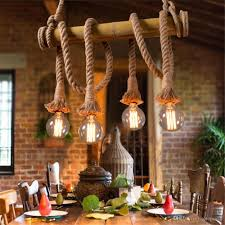 Wicker Pendant Light by Discount Vintage Bamboo Pendant Lamp Retro Countryside Wicker